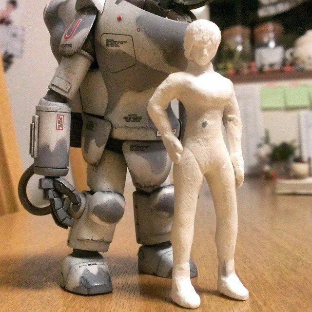 樹脂粘土 人型フィギュア 에 대한 이미지 검색결과