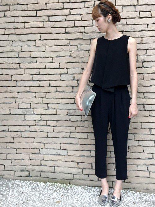 ドレスコード スマートカジュアル オールインワン GU에 대한 이미지 검색결과