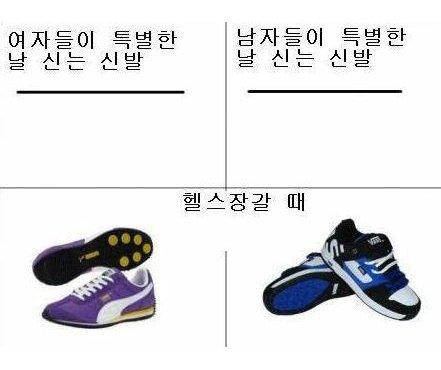 5908486ca2837 - 남성과 여성의 차이를 보여주는 '특별한 날 신는 신발'