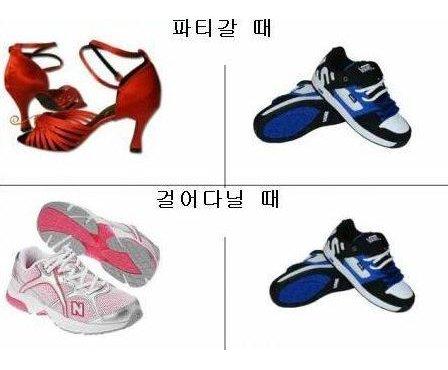5908486e1a977 - 남성과 여성의 차이를 보여주는 '특별한 날 신는 신발'