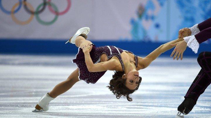 Una patinadora olímpica rescató a un perro que iba a ser cocinado