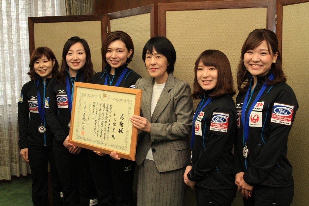 女子カーリング 北海道 祝福에 대한 이미지 검색결과