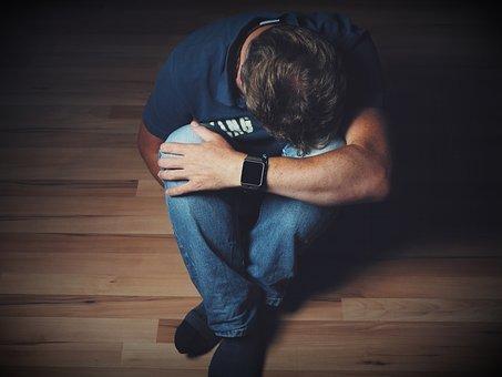 남자, 상, 절망, 감정, 통증, 기쁨, 낙담, Kummer, 우울
