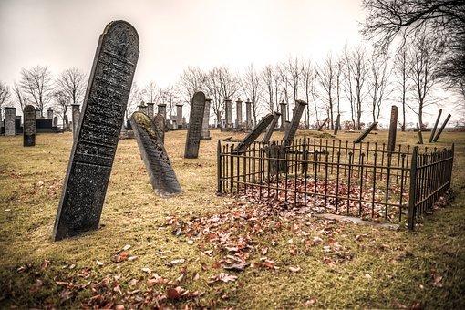 오래 된, 돌, 고 대, 건축물, 트리, 죽음, 무덤, 죽은, 묘지