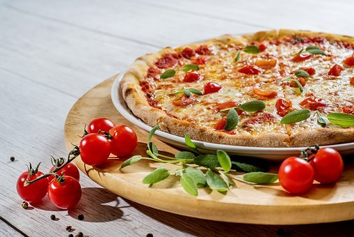 피사 호텔, 음식, 치즈, 판, 점심 식사, 배 고 파, 야채