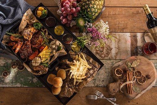 플래터, 음식, 푸드, 맛있는 음식, 레스토랑, 식사, 요리, 양식