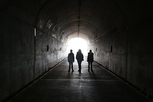터널, 가족, 사람들, 명