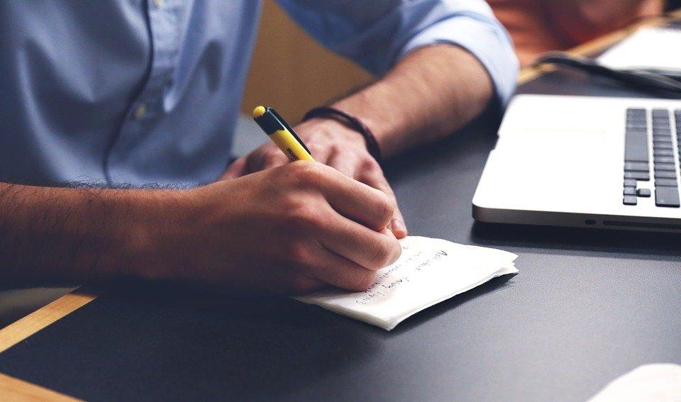 쓰다, 계획, 사업, 시작, 시동, 노트북, 크리에이 티브, 컴퓨터, 회사, 디스플레이