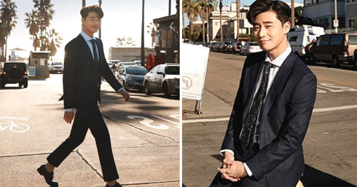 article thumbnail 85 - '키 185cm'에 모델 포스 풍기는 박서준의 슈트 화보 (사진 8장)