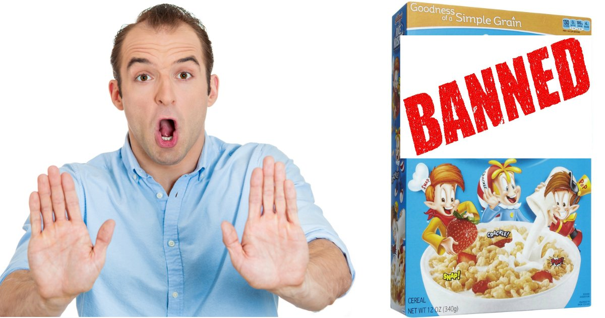 banned - 8 Food Products That Are Banned Due To Suspicious Ingredients