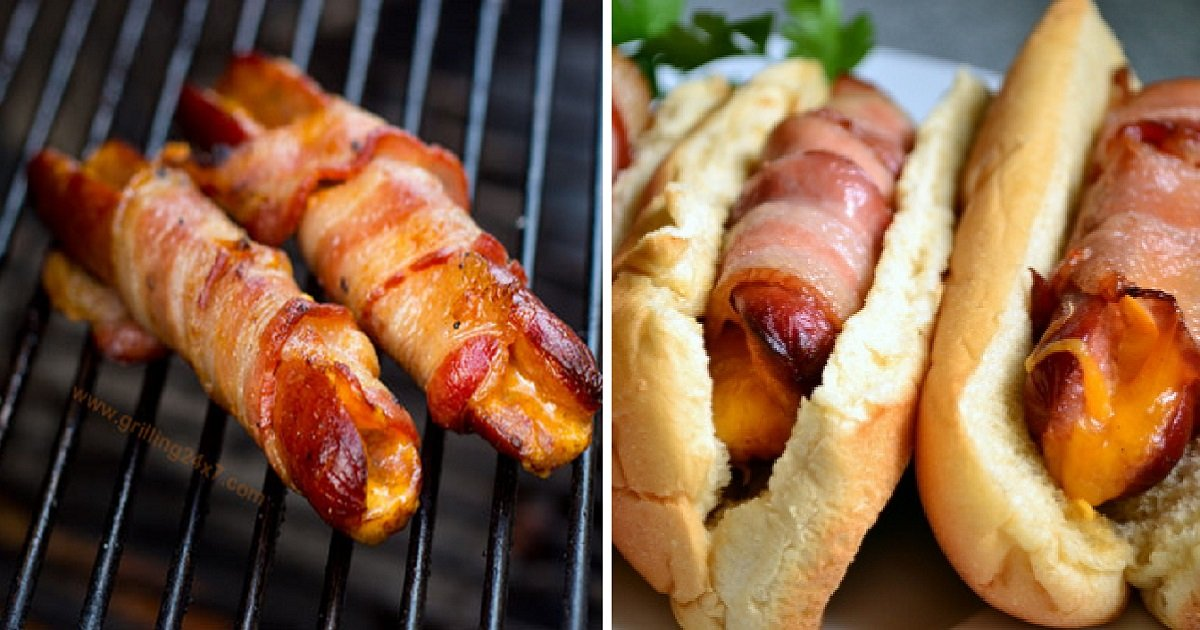 bch1.jpg?resize=300,169 - Bacon Wrapped Hot Dogs - Forget About The Classic Recipe, It's With Cheese Stuffed!
