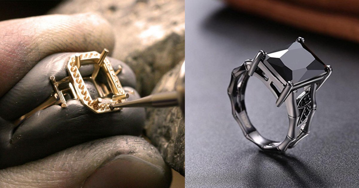 blck diamond banner.jpg?resize=300,169 - Making of Black Diamond Ring Is Oddly Satisfying