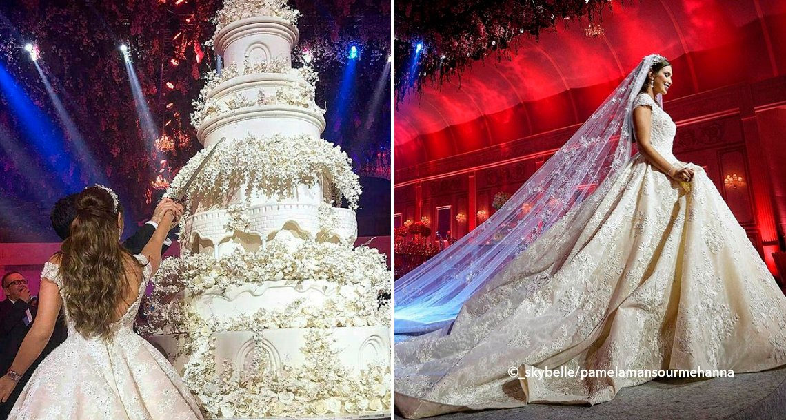 boda.png?resize=1200,630 - Una boda de cuento de hadas en Beirut impresionó a todos, la suntuosidad y el lujo son impresionantes