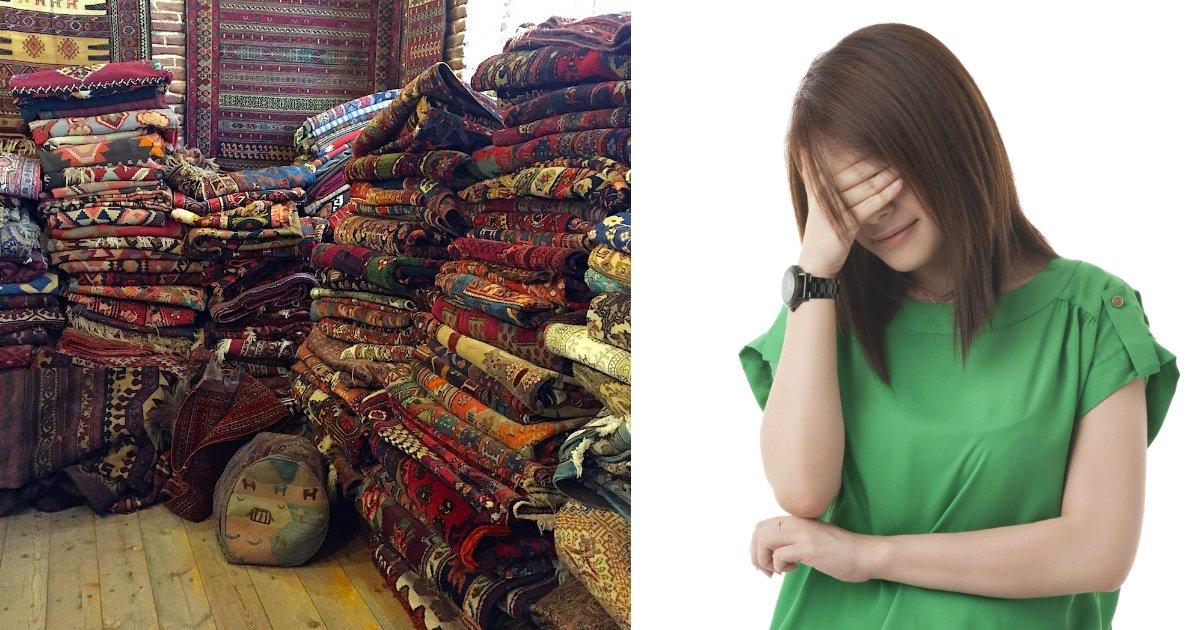 carpet.jpg?resize=1200,630 - Femme commande des centaines de tapis gratuits sur Amazon ... et le regrette aussitôt