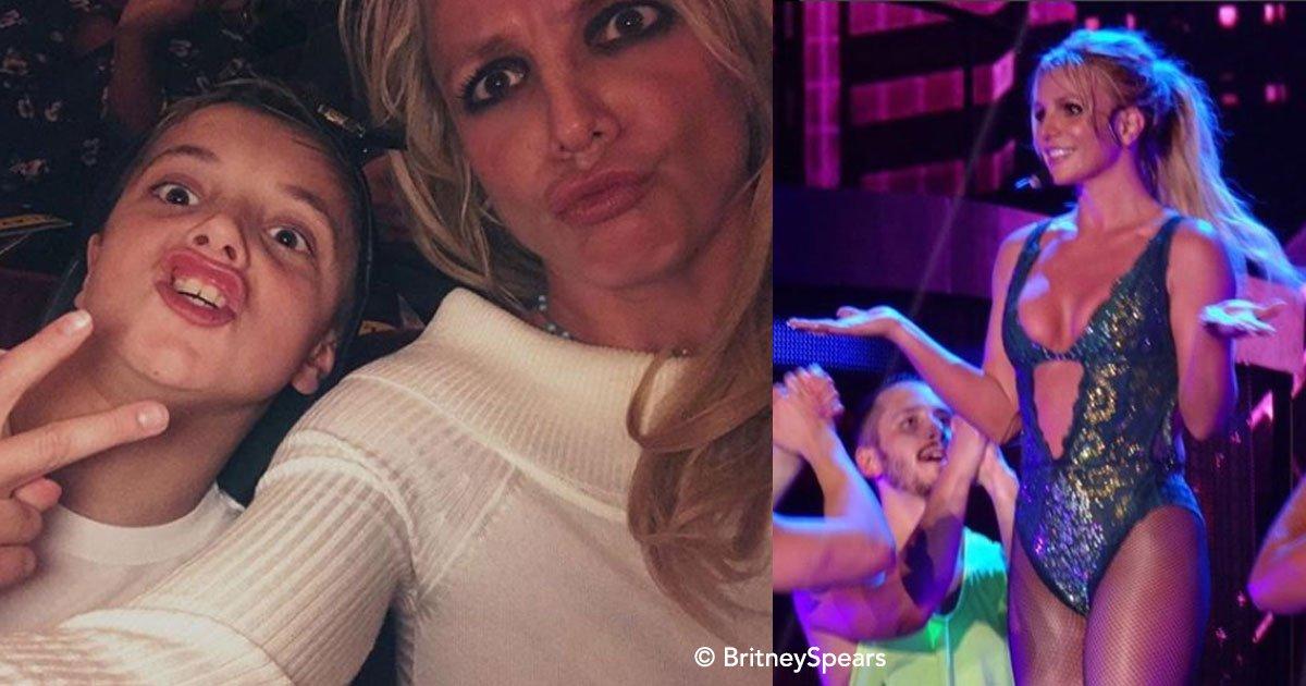 cover 11.jpg?resize=1200,630 - La cambiante vida de Britney Spears, ahora vive un momento de total plenitud en su carrera y con sus hijos