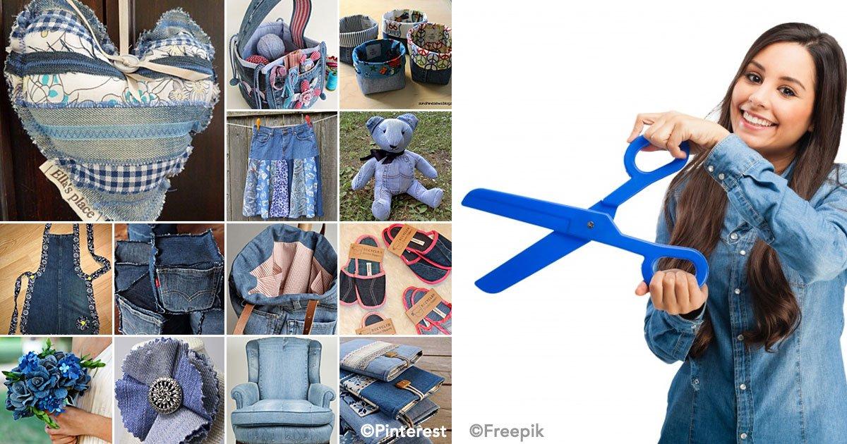 cover 25.jpg?resize=1200,630 - 15 Ideas sencillas para reutilizar la tela de los jeans viejos