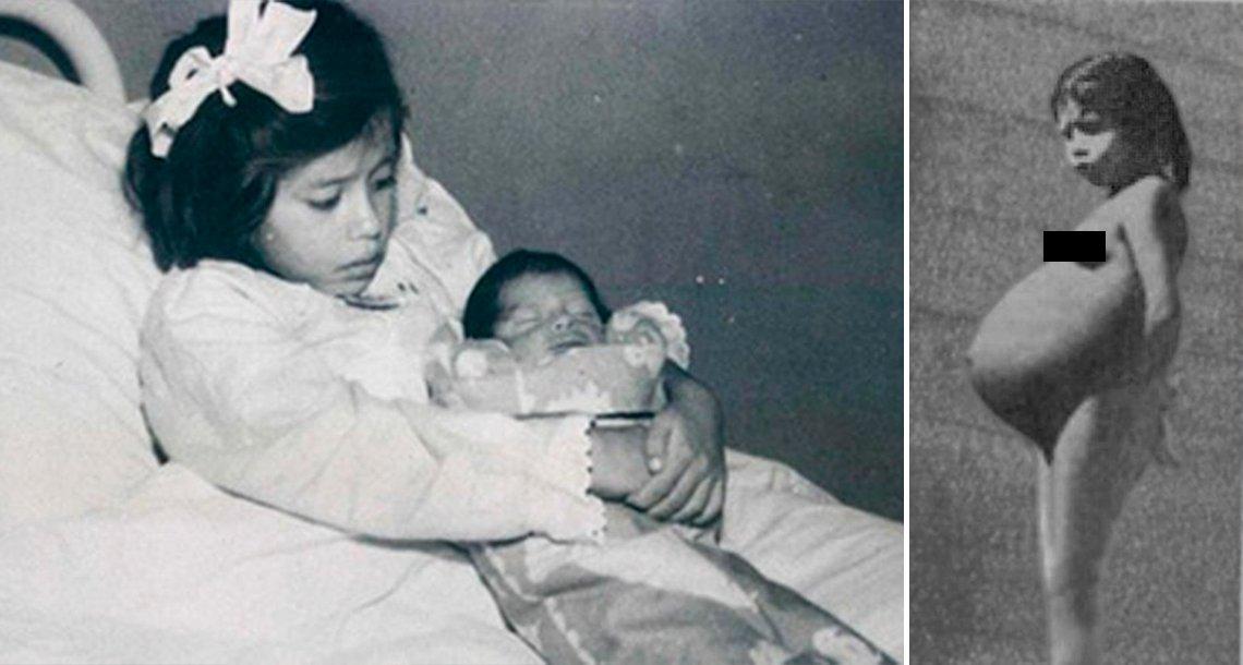 cover 45an.png?resize=1200,630 - El caso de la madre más joven del mundo tuvo a su hijo a los 5 años y jamás reveló quién la embarazó