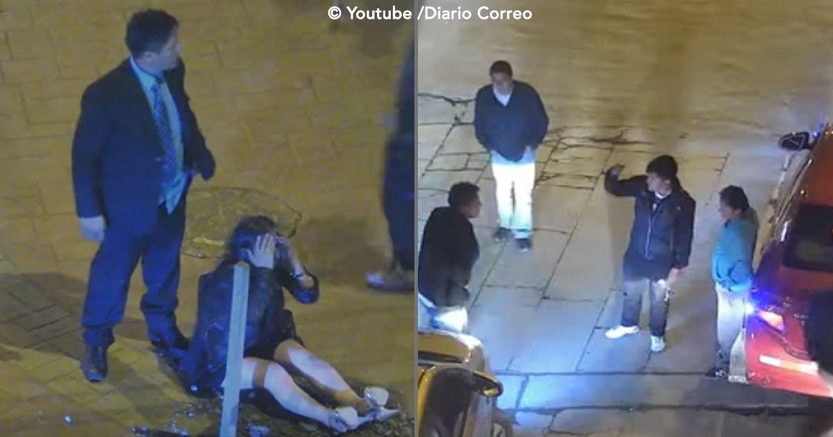 cover 46.jpg?resize=1200,630 - Un hombre golpea a su pareja en la calle, pero un grupo de personas le dan su merecido