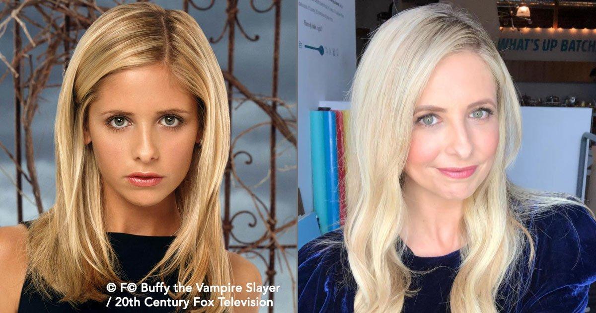 """cover 48.jpg?resize=648,365 - Así lucen los protagonistas de """"Buffy, la cazavampiros"""" a 20 años de su estreno."""