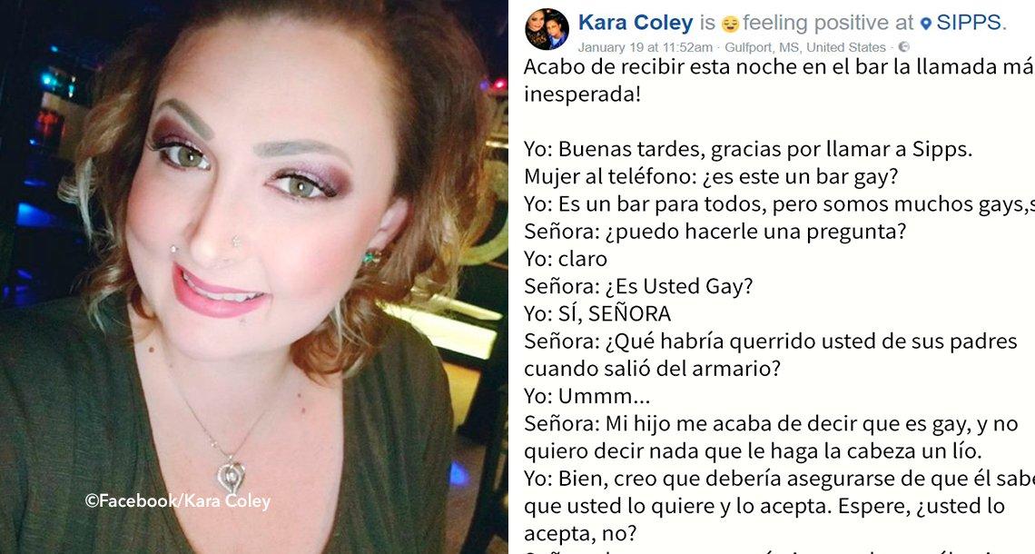 cover 4gay - Una madre llama a un bar gay para saber cómo reaccionar después de la confesión de su hijo