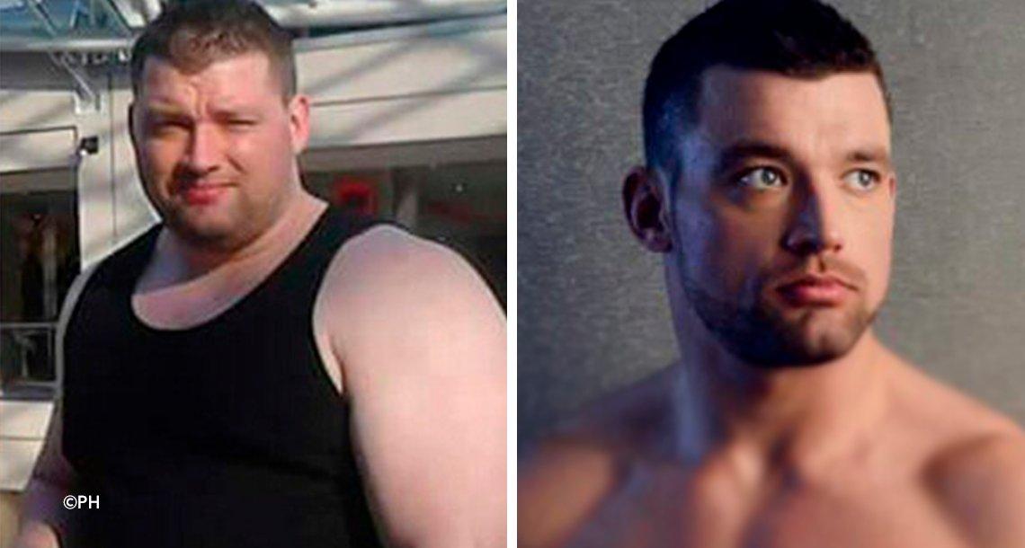 cover 4gor 1.png?resize=1200,630 - Lo dejaron por ser gordo y decidió cambiar, no vas a creer como se ve ahora