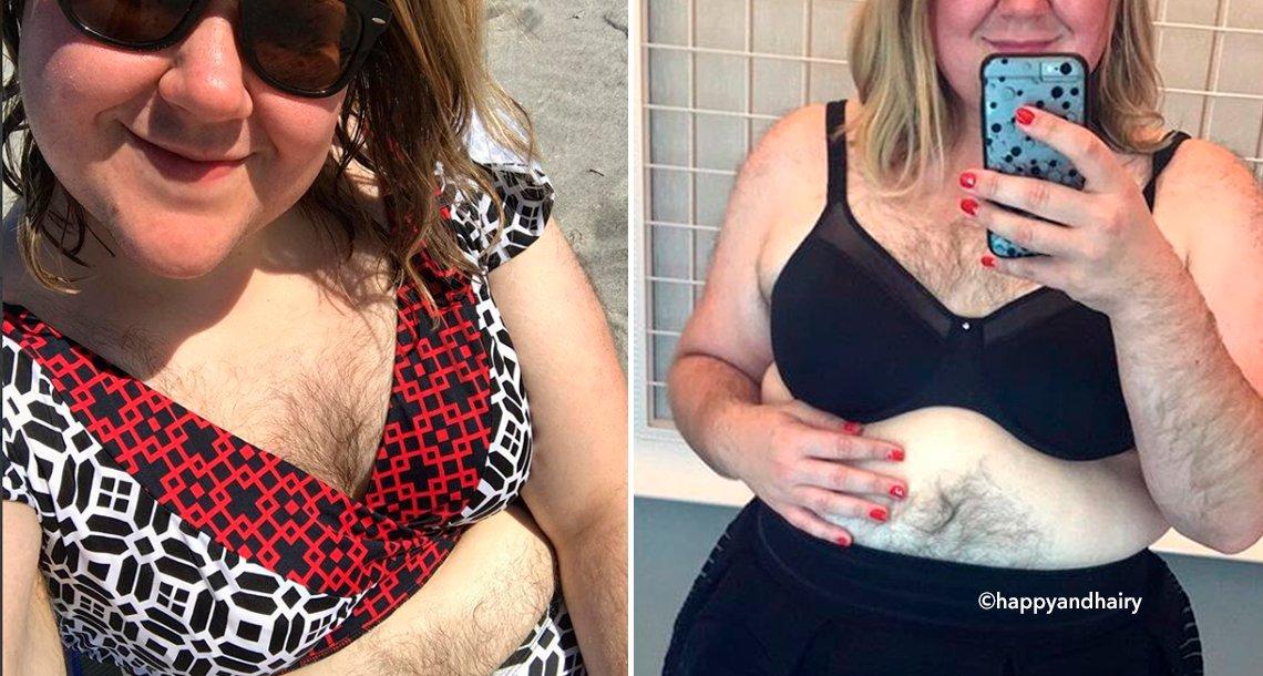 cover 4pelifda.png?resize=1200,630 - Mulher sofria bullying por ser peluda, mas agora se sente orgulhosa de seu corpo