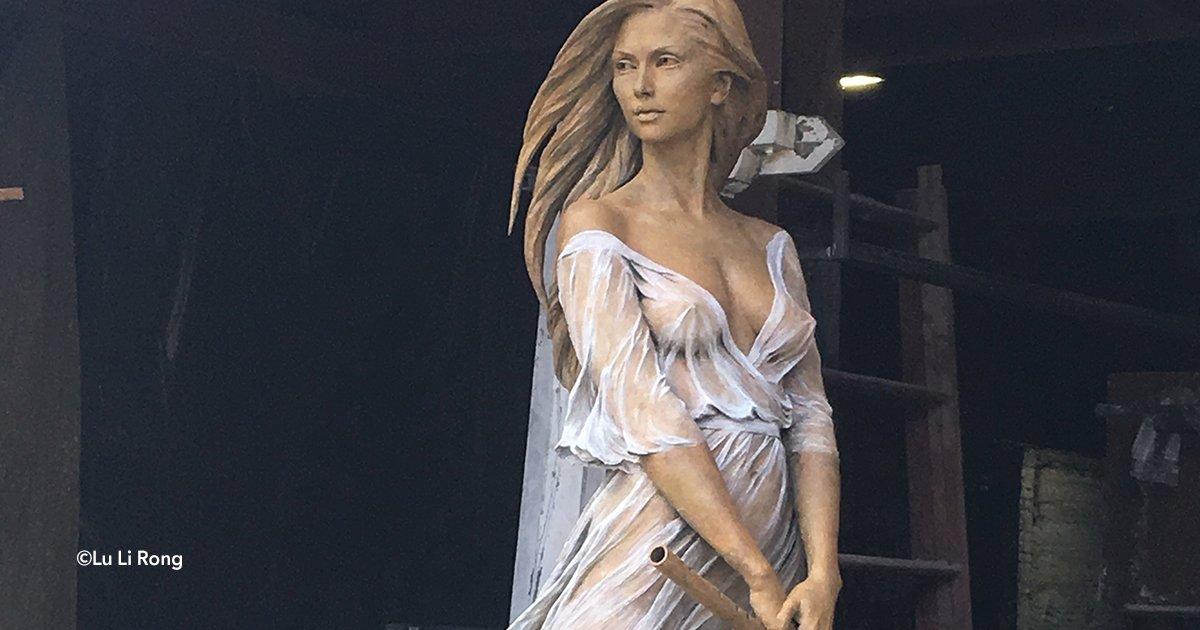 cover 4ppp.png?resize=1200,630 - É uma escultura muito bonita, e se você observar cuidadosamente encontrará detalhes surpreendentes
