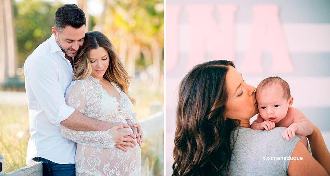 cover 4ximena - Así se ve Ximena Duque luego de dar a luz a su hija