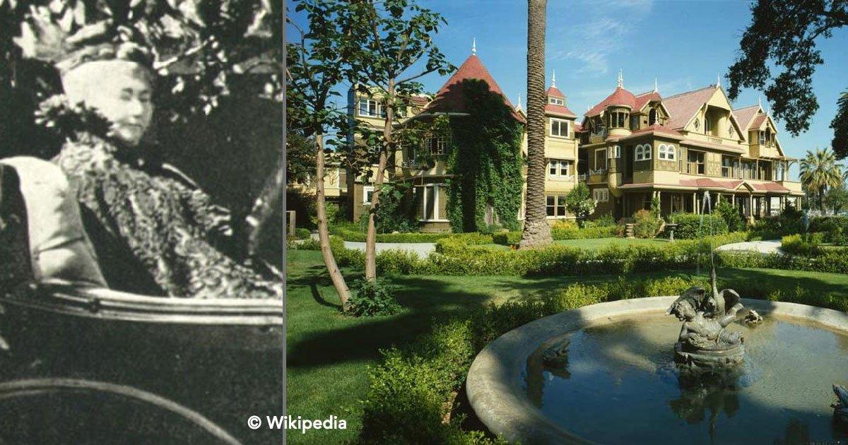 cover 58.jpg?resize=1200,630 - Viuda construyó una mansión para los fantasmas que amenazaban con matarla