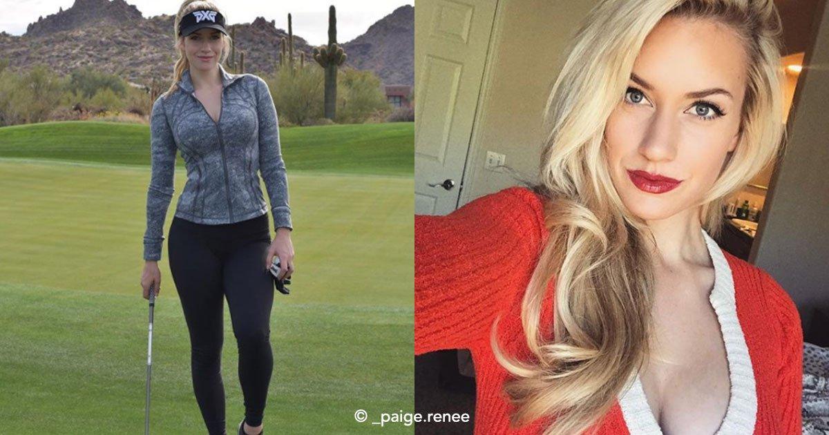"""cover 7 - """"La golfista más sexy del mundo"""" causa revuelo en redes sociales y en el deporte"""