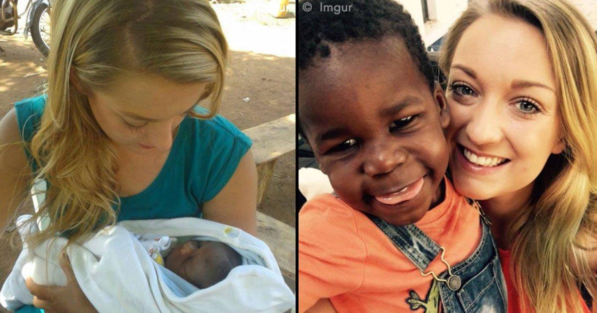cover 83.jpg?resize=300,169 - Una joven maestra de Inglaterra va de voluntaria a Uganda a un orfanato y conoce a quien sería su hijo adoptivo