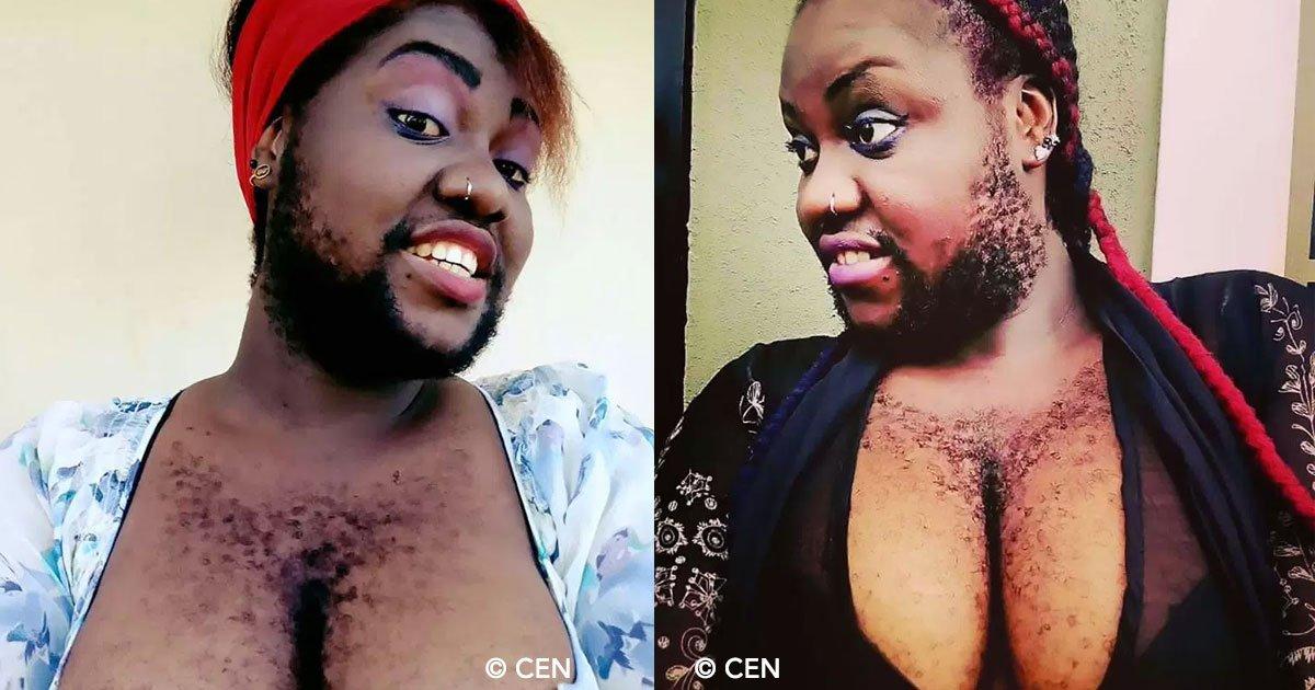 cover 85.jpg?resize=1200,630 - Esta chica ha decidido ser famosa siendo la mujer más peluda de Nigeria, además sueña con ser actriz