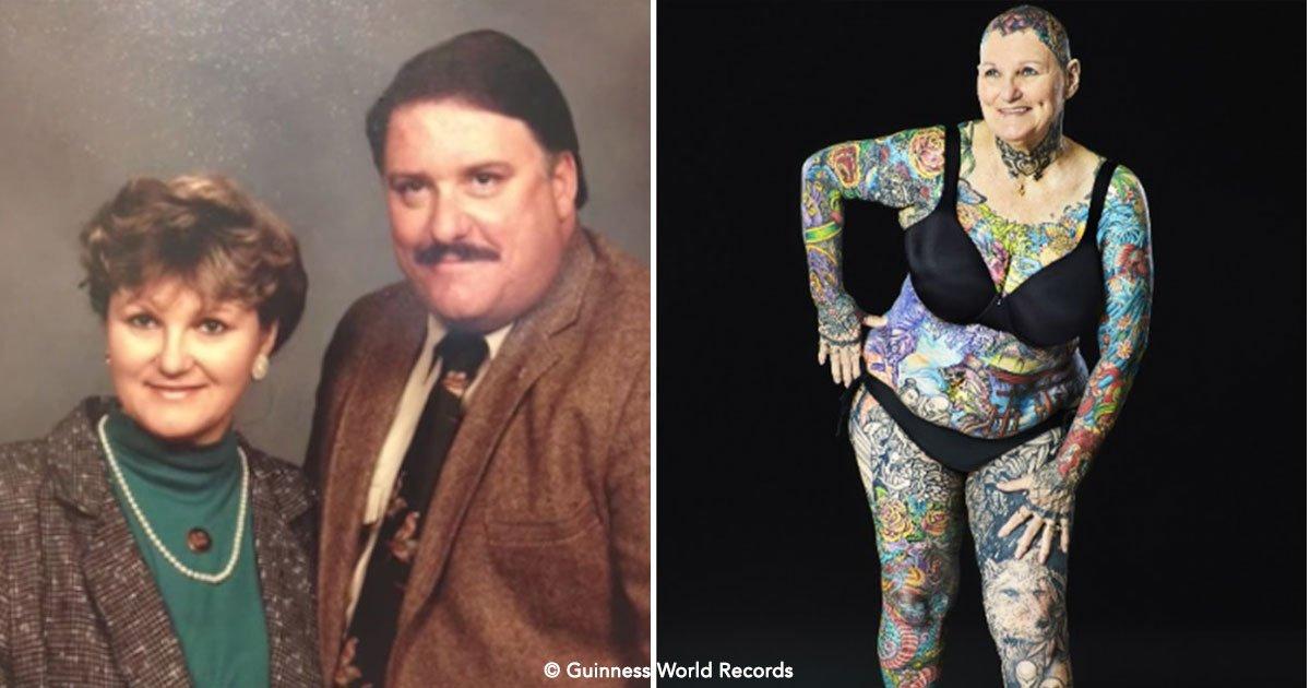 cover 87.jpg?resize=1200,630 - Su esposo le prohibió tatuarse, pero cuando él murió decidió cambiar su cuerpo radicalmente