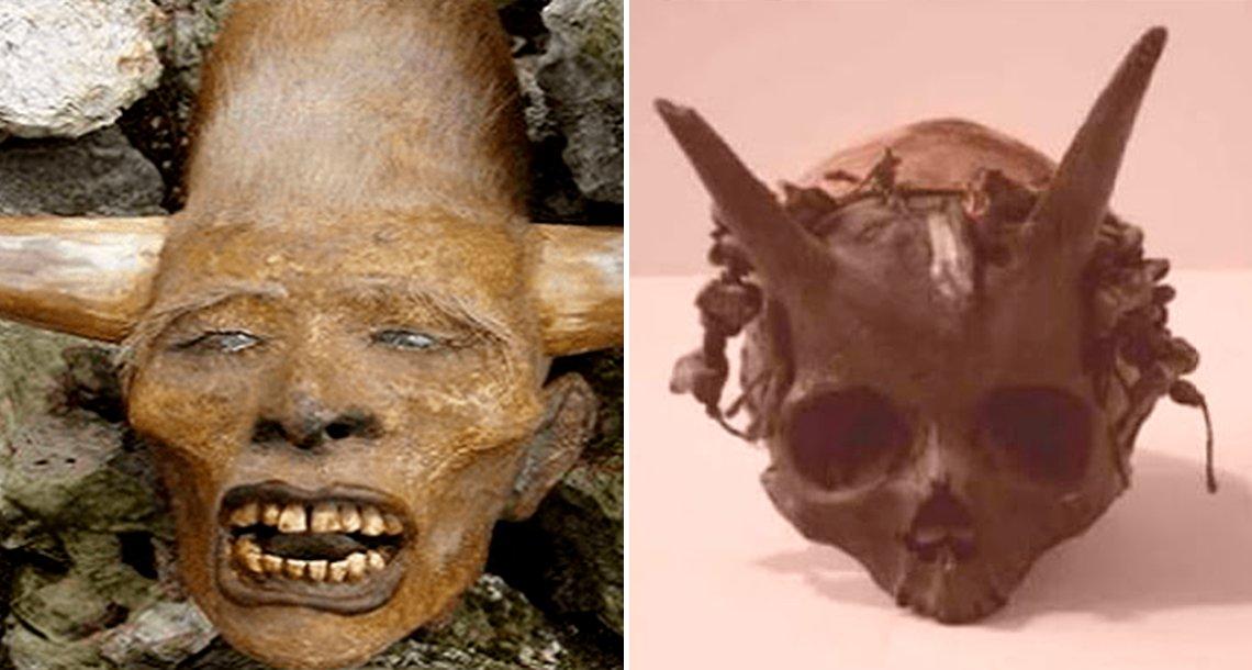 cover curenos - Hallan antigua raza humana con cuernos y de 2 metros de altura