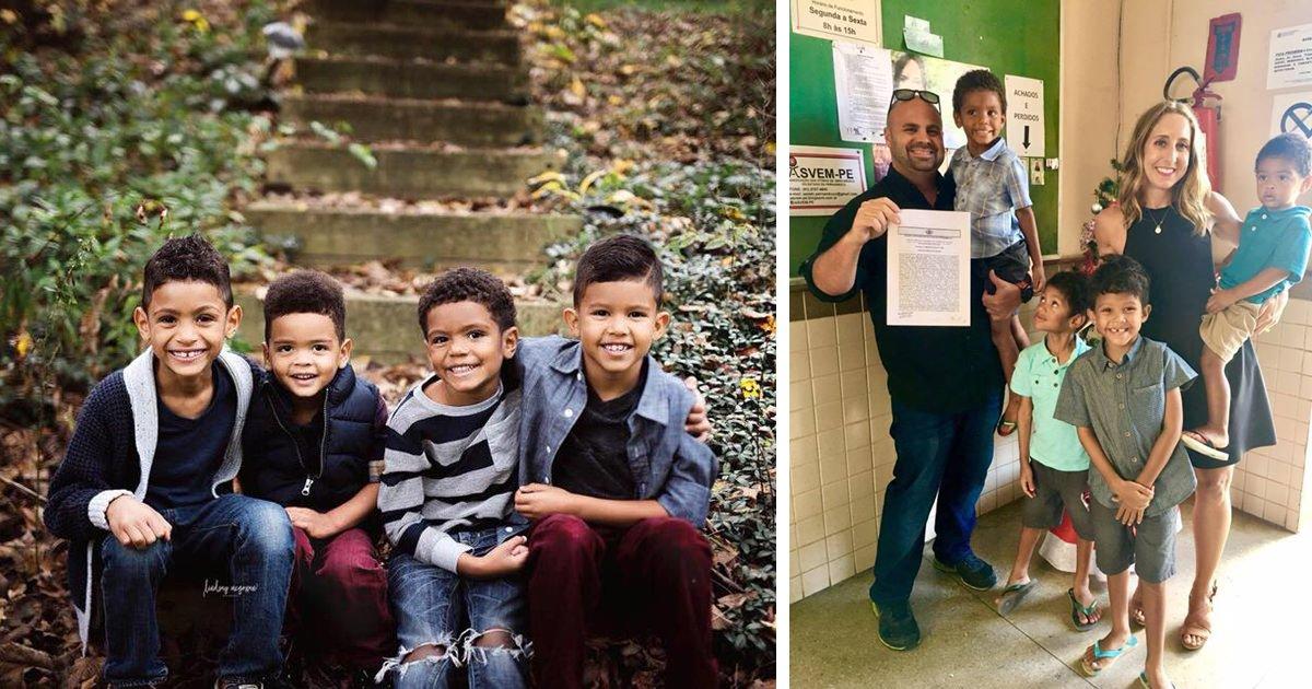 cover21.jpg?resize=1200,630 - Casal americano adota 4 órfãos brasileiros e muda a vida deles