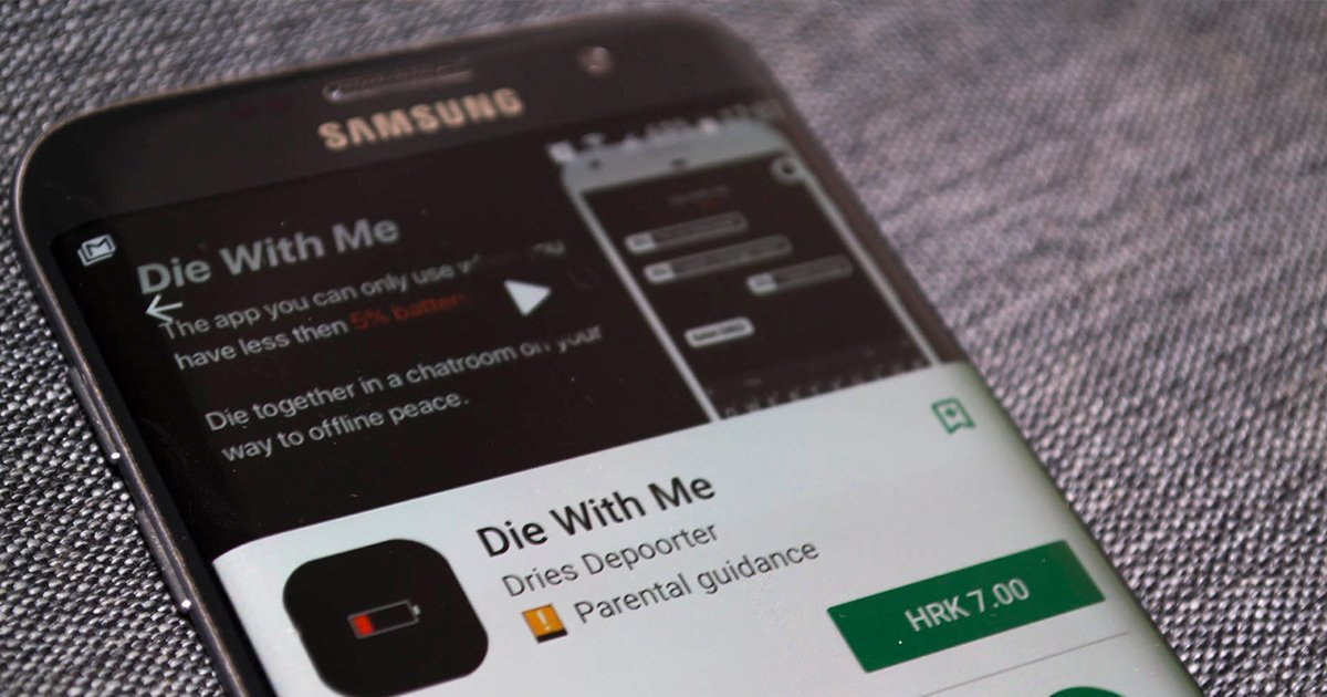 """cover22ooo.jpg?resize=1200,630 - """"Muere conmigo"""", la nueva app que solo funciona con 5% de batería"""