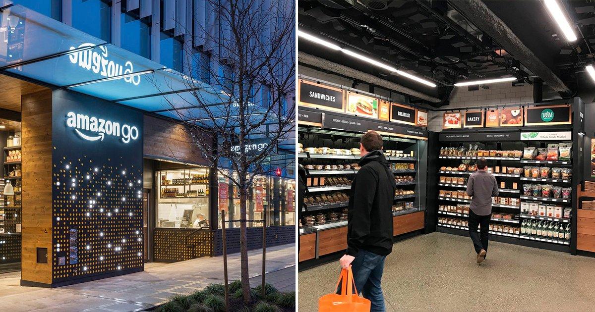 cover77 - Amazon lanza un nuevo concepto de tiendas al abrir supermercados donde todo es virtual