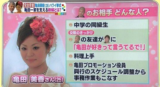 亀田興毅 奥さん에 대한 이미지 검색결과