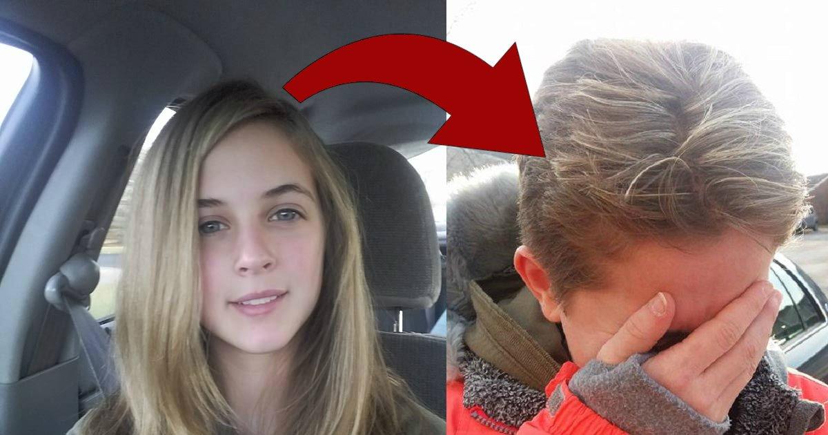 cut.jpg?resize=636,358 - Adolescente faz luzes no cabelo para passar o aniversário mas infelizmente dá tudo errado!