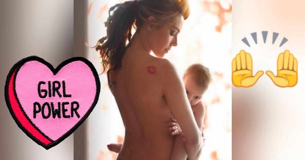 cverff - 16 fotos inspiradoras de madres valientes que amamantan a sus bebés
