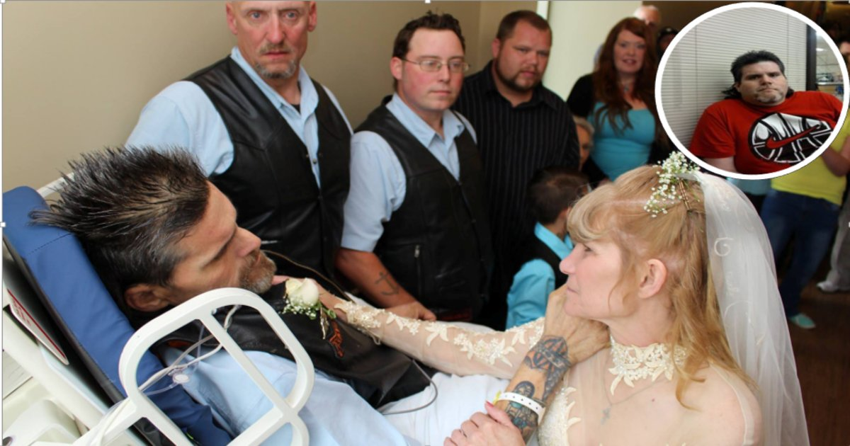 darrthumb - After Being Given A week to Live, Terminally Ill Man Fulfills Dying Wish- Marrying His Best Friend