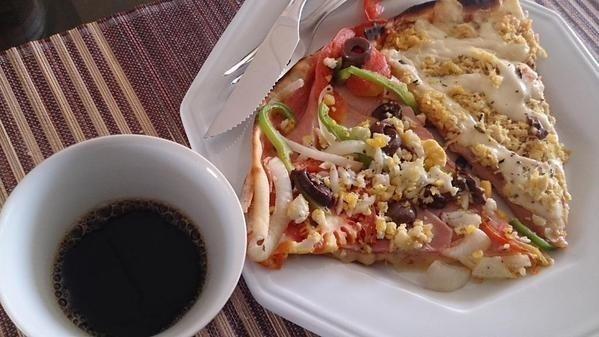 dd44b19e9bd43042207918558b3c6929 - Tá liberado? Pizza no café da manhã é mais saudável do que cereal!