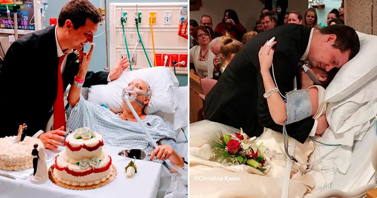 dddd.png?resize=1200,630 - Una pareja decide casarse aunque ella estaba a punto de morir de cáncer, 18 horas después él quedó viudo.