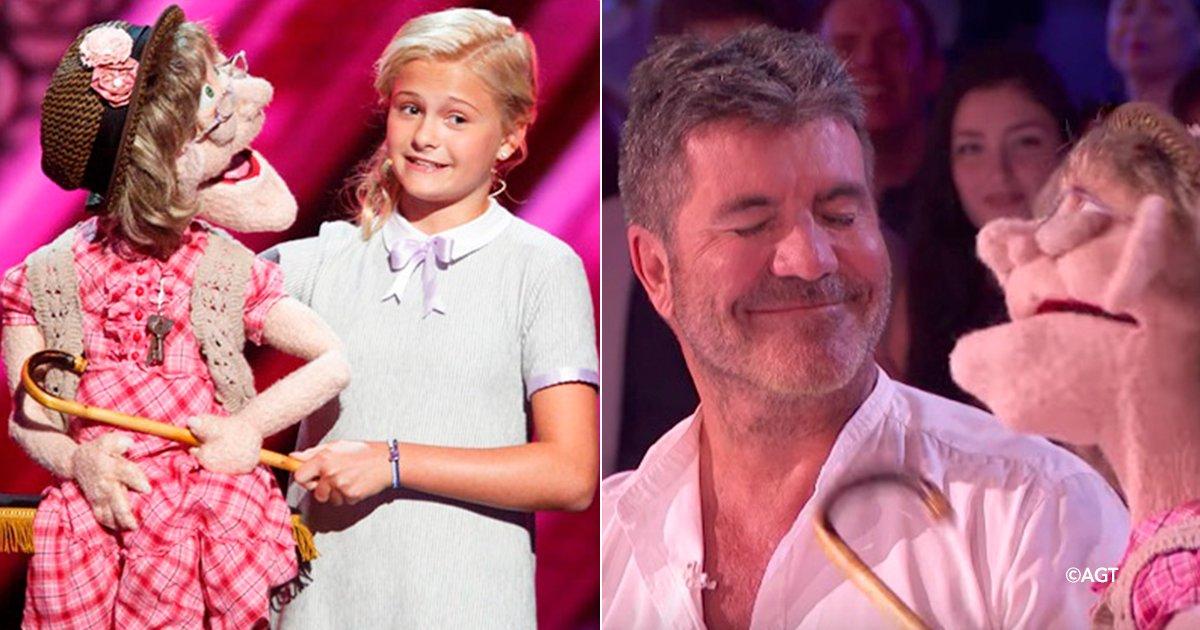 """dddsds 1.png?resize=1200,630 - Chica de 12 años causa controversia con su muñeca """"anciana"""" en el programa """"America's Got Talent"""""""