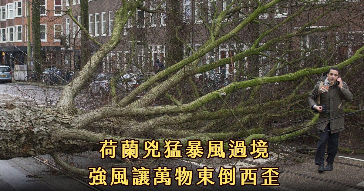 e69caae591bde5908d 1 21.png?resize=300,169 - 天氣異變!? 不只台灣迎來強烈寒流,荷蘭驚人暴風更是讓人顫慄