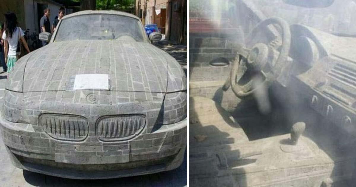 ebacb4eca09c 1 ebb3b5ec82ac 46.jpg?resize=412,232 - 'BMW'가 너무 갖고 싶어 5년간 '거대한 돌' 깎아 자동차 만든 청년