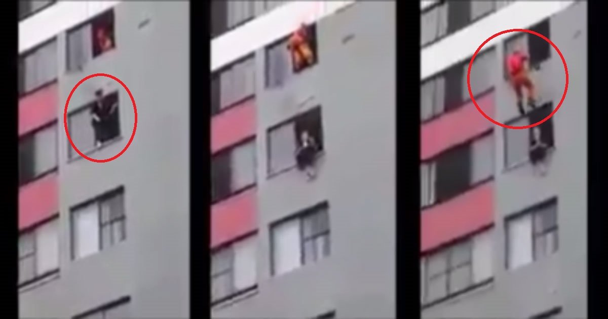 ec868cebb0a9eab480 ec8db8eb84a4ec9dbc - 자살시도 여성 구하기 위해 몸을 던지는 소방관(영상)