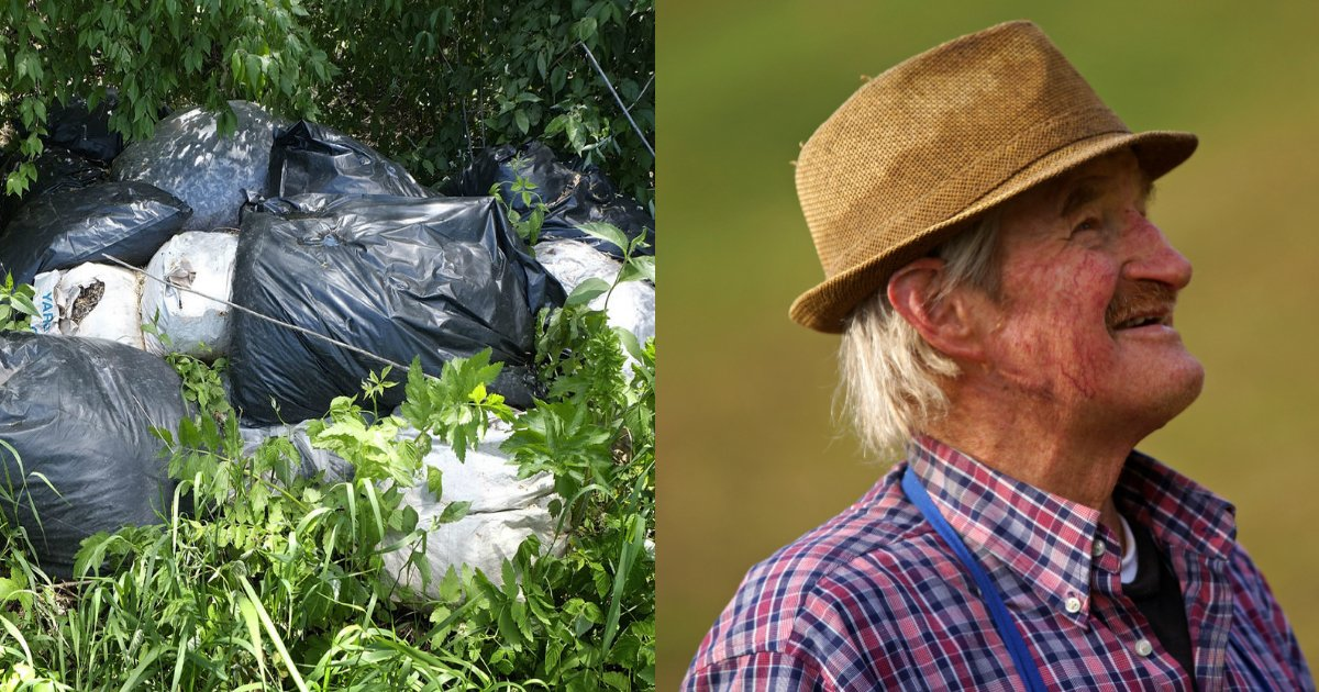 farmer.jpg?resize=1200,630 - Farmer Got Revenge On Man Who Dumped Trash On His Property By Taking Waste Back To His Home