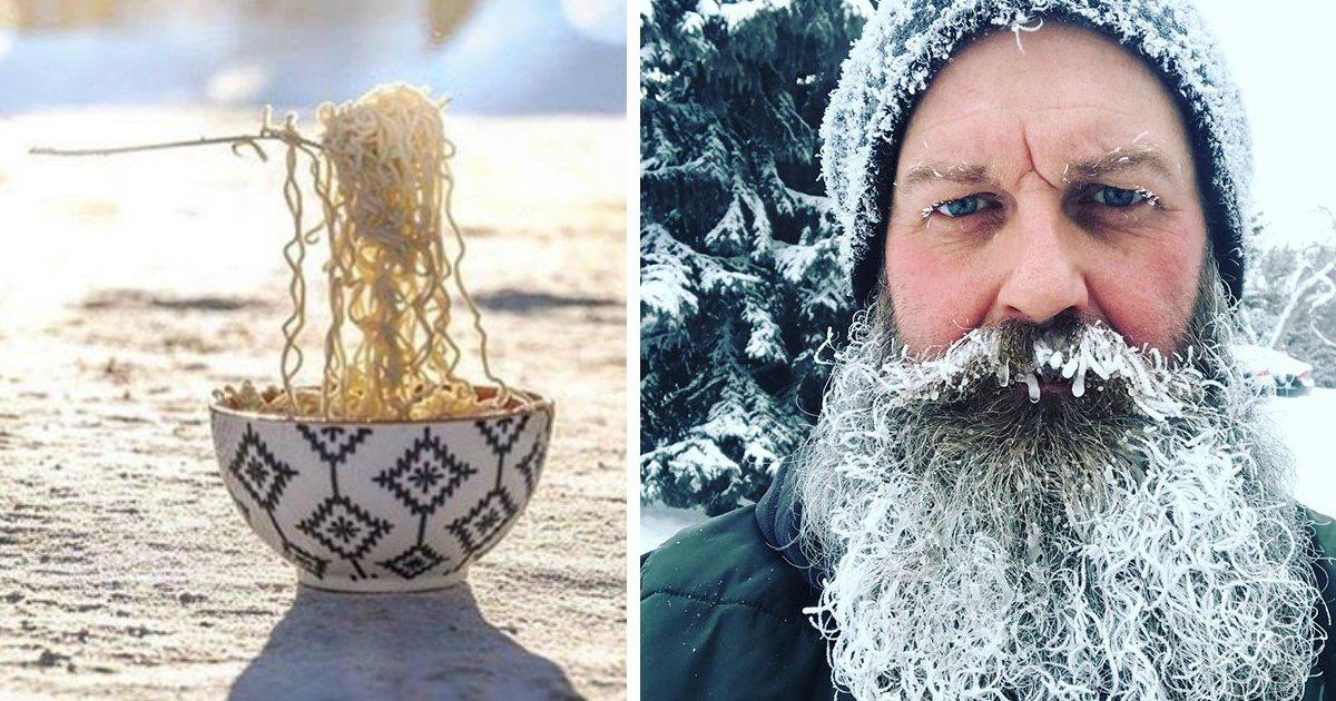 frio - 30 fotos que provam como faz frio nos EUA e no Canadá