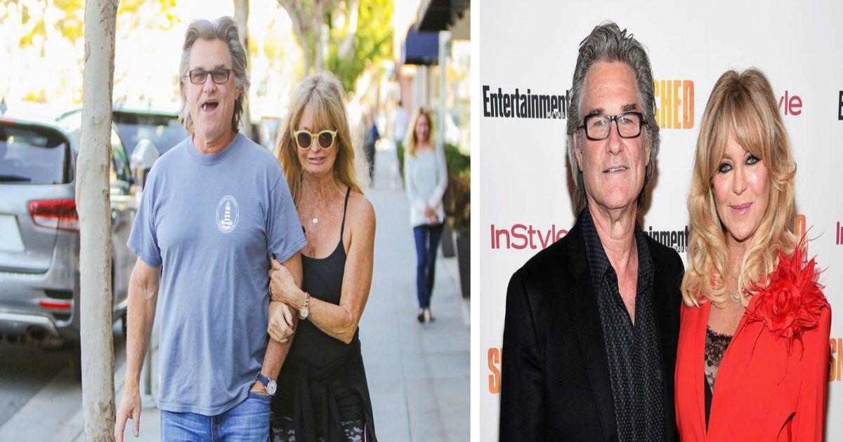 goldie featured - Goldie Hawn explique pourquoi avec Kurt Russell ils n'ont jamais considéré le mariage comme une option!